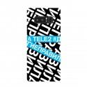 """Чехол для Samsung с принтом """"У меня другие правила (синий)"""""""