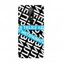 """Чехол для Nokia с принтом """"У меня другие правила (синий)"""""""