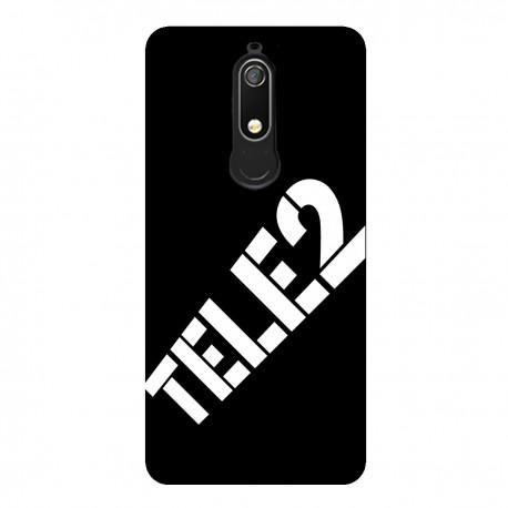 """Чехол для Nokia с принтом """"Ничего лишнего (черный)"""""""