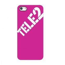 """Чехол для Apple iPhone с принтом """"Ничего лишнего (розовый)"""""""