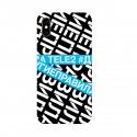 """Чехол для Apple iPhone с принтом """"У меня другие правила (синий)"""""""