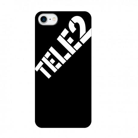 """Чехол для Apple iPhone с принтом """"Ничего лишнего (черный)"""""""